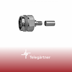 N-Kabelstecker Crimp